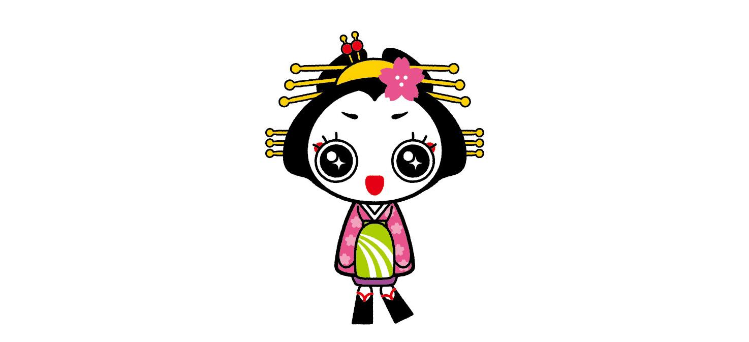 燕市観光協会様/おいらん道中キャラクター「きららん」