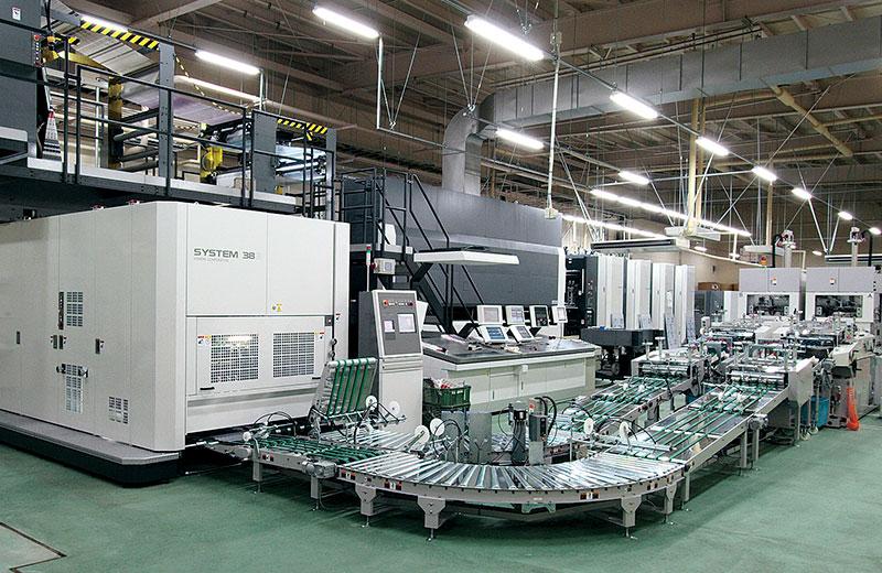 オフセット高速輪転印刷機(オフ輪)<br>SYSTEM 38S(A横全)/SYSTEM 35S(B縦半裁)